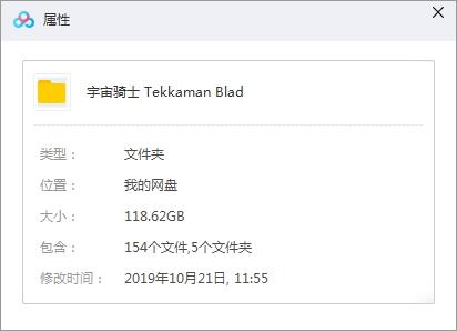 《宇宙骑士(Tekkaman Blade I+II)》(TV+OVA+特典)珍藏版合集1080P百度云网盘下载-时光屋