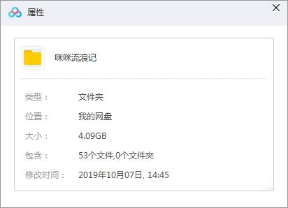 《咪咪流浪记》全51集高清720P百度云网盘下载-时光屋