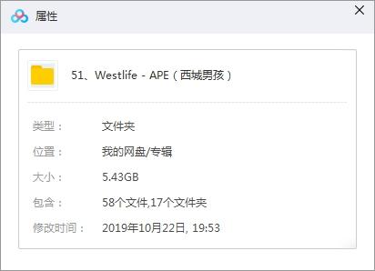 《Westlife/西城男孩》[15张专辑]歌曲合集百度云网盘下载-时光屋