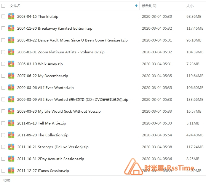 《凯丽/Kelly Clarkson》[39张专辑/单曲]合集百度云网盘下载-时光屋