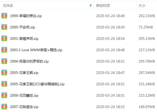 《花儿乐队》[8张专辑]歌曲合集百度云网盘下载-时光屋