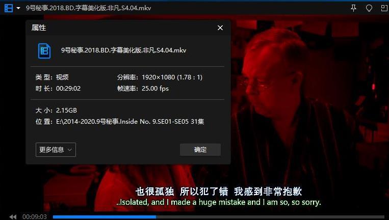 《Inside No.9/9号秘事》[全5季+圣诞特别篇]高清1080P百度云网盘下载-时光屋