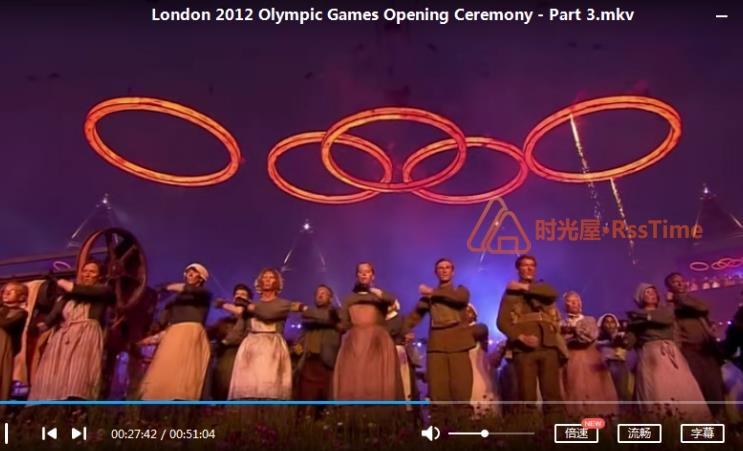 《2012年伦敦奥运会开幕式》高清百度云网盘下载-时光屋