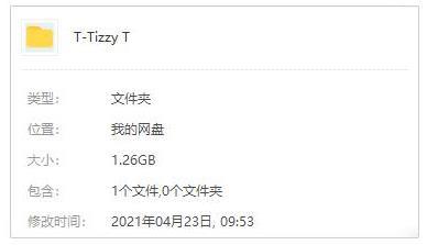 《Tizzy T说唱单曲》[60首]百度云网盘下载-时光屋