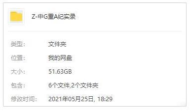 纪录片《中国大案重案纪实(1996-2005)》五部普清百度云网盘下载-时光屋